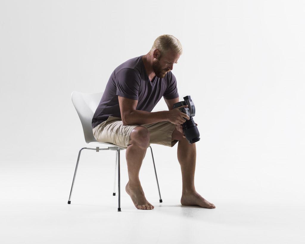 Ryan Laurita in the studio